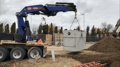 Precast Concrete Tank Liner