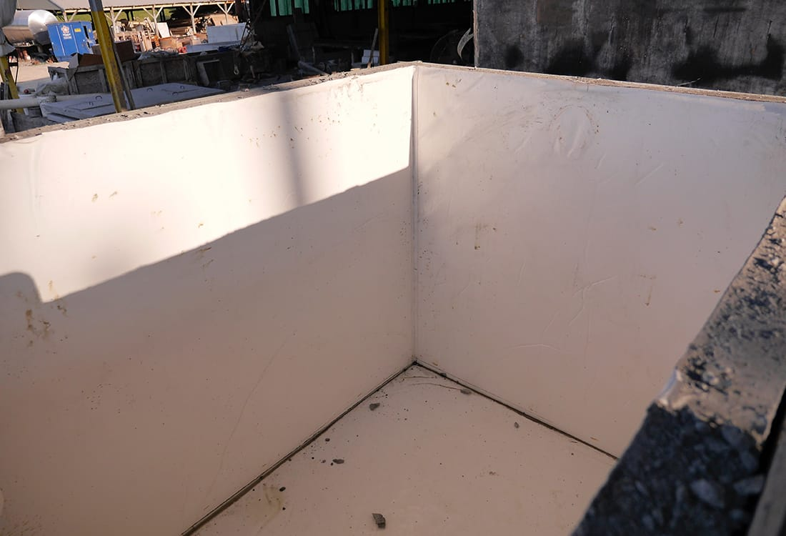 Precast Concrete Grease Trap Corner