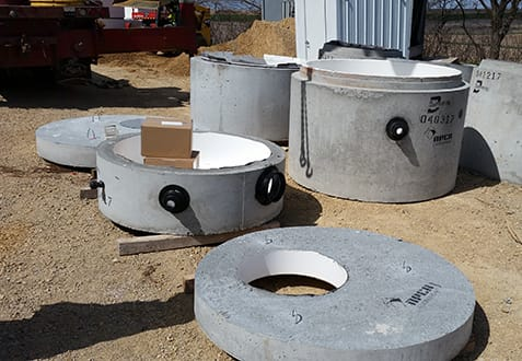 XR QuikLiner Provides Waterproofing for Concrete Manholes