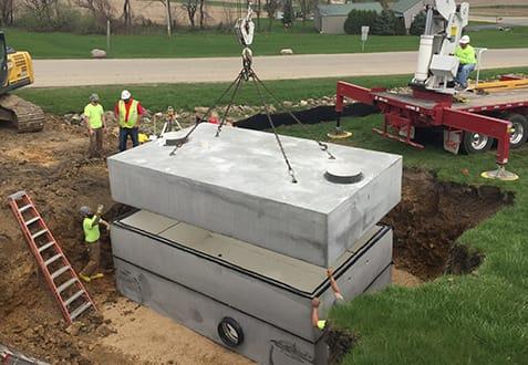 Grande Cheese Precast Concrete Tank
